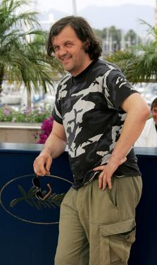 Emir Kusturica at the photocall promotingr the film &quot;Promise Me This&quot; at the Palais des Festivals during the 60th International Cannes Film Festival.
